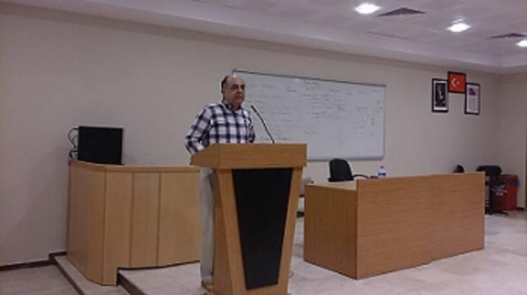 Prof.Dr.Tayfun Amman'ın 2014-2015 Açılış Dersi